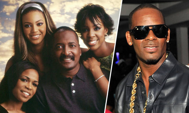 Mathew Knowles reveals what happened when Destiny's Child met R. Kelly.