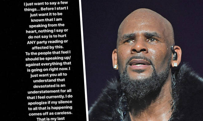 """R Kelly's Daughter shares honest statement about her """"terrible father"""""""