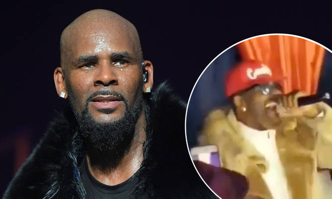 R. Kelly's birthday party was raised by police.