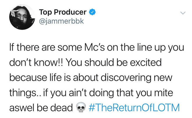 Jammer reveals the first names on the Lord Of The Mics 8 line up