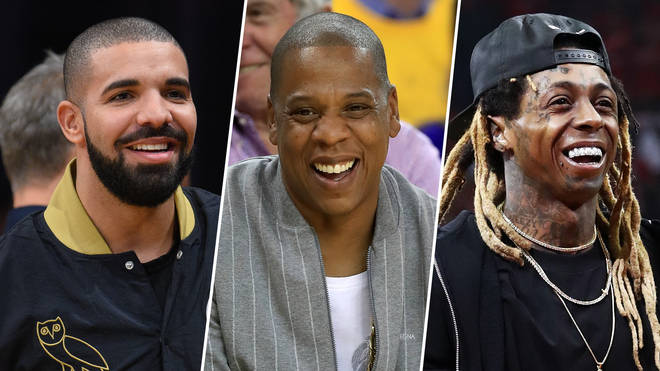 Drake, Jay-Z and Lil Wayne are all NBA regulars.