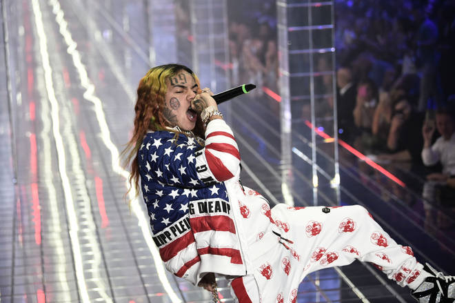 Tekashi 6ix9ine is currently awaiting trial.
