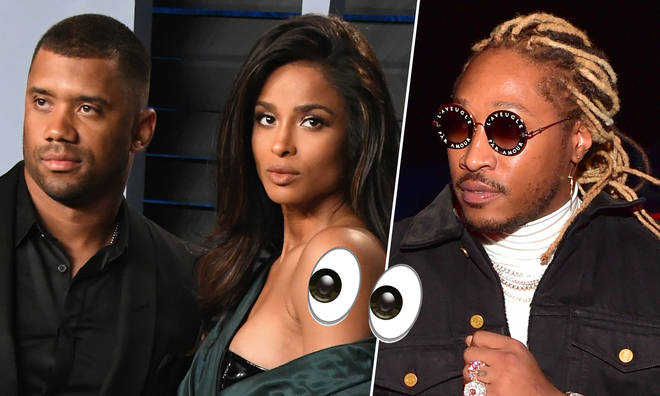 "Future accused Ciara&squot;s husband Russell of ""not being a man""."
