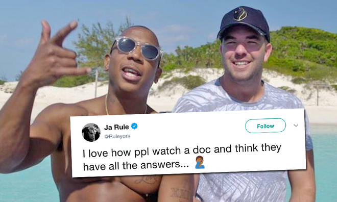 Ja Rule defends his actions after Fyre Festival documentary airs