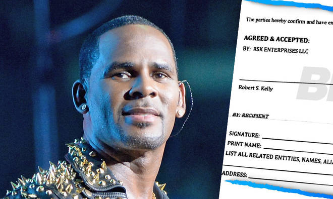 R Kelly's alleged NDA leaks online