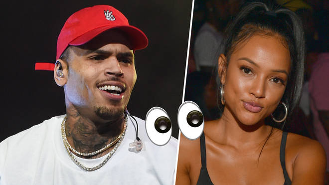 Fans are seeing similarities to Breezy's rumoured girlfriend Ammika and his ex Karrueche.