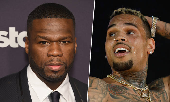 50 Cent has spoken out on the rape allegations made against Chris Brown.