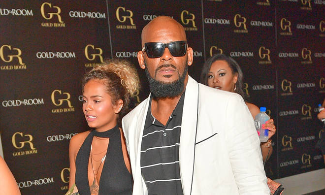 R Kelly accused of attacking his girlfriend Halle Calhoun