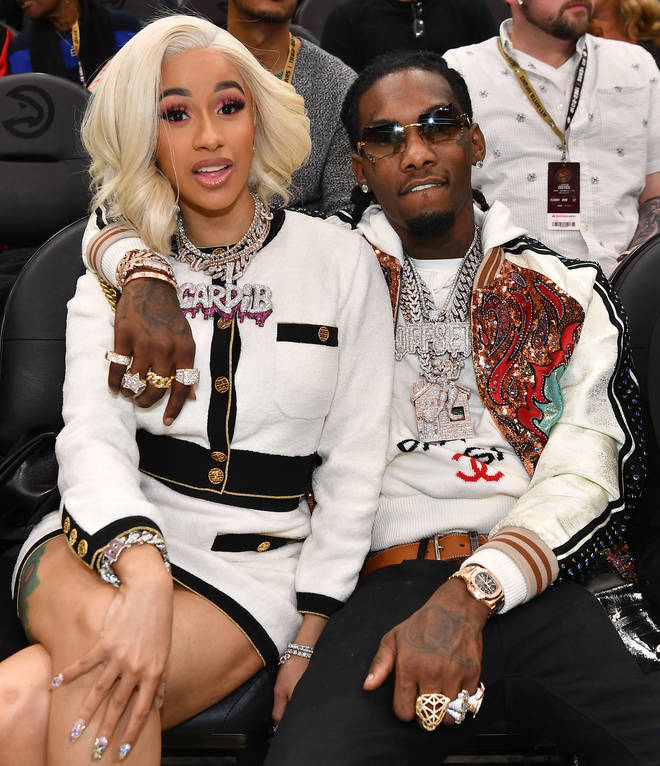 Cardi and Offset are said to be back together.