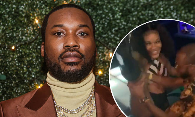 Meek thought he was headed for jail after getting pulled over by cops.