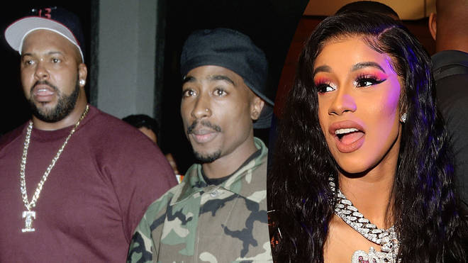 "Sure Knight reportedly dubbed Cardi ""Tupac in a skirt."""