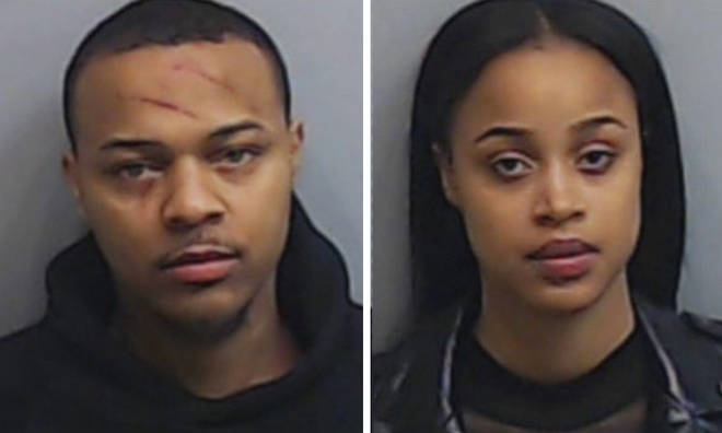 Bow Wow was arrested after a fight with his ex-girlfriend Leslie Holden