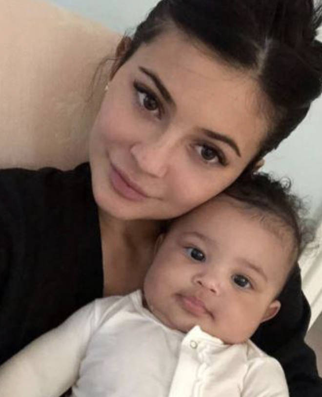 Kylie shares pictures of Stormi for her first birthday