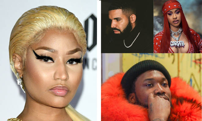 Nicki Minaj disses the top hip-hop rappers in the game