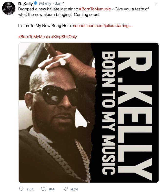 R. Kelly drops a song on Soundcloud despite sexual abuse allegations