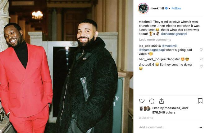 Drake and Meek Mill reunited