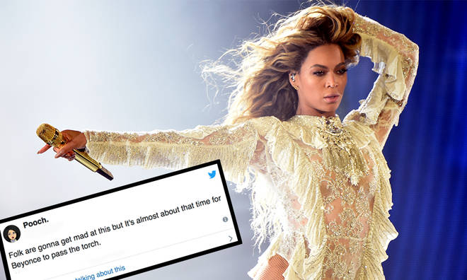 "Beyonce has been asked to ""Pass The Torch"""