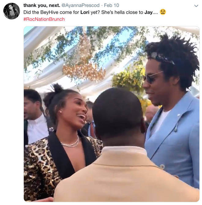 Beyoncé fans have been dragging Lor Harvey after she was spotted smiling at Jay Z