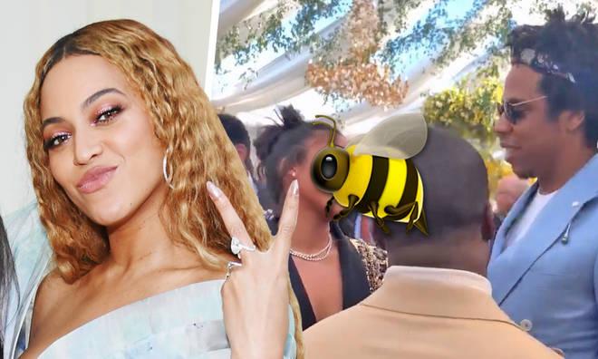 Beyonce fans drag Lori Harvey for smiling at Jay Z
