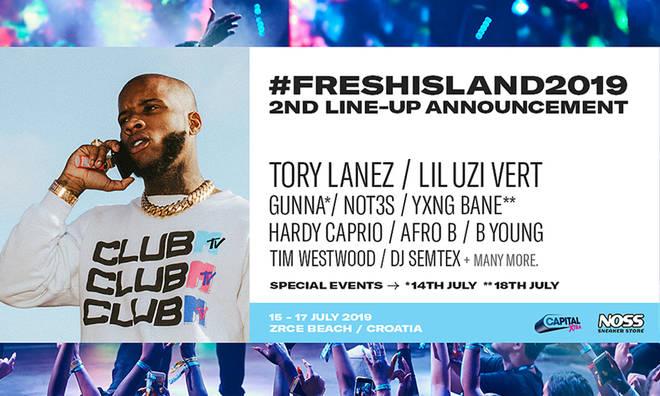 Fresh Island Festival 2019 Line-Up