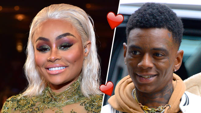 Blac Chyna was spotted cosying up to Soulja Boy.