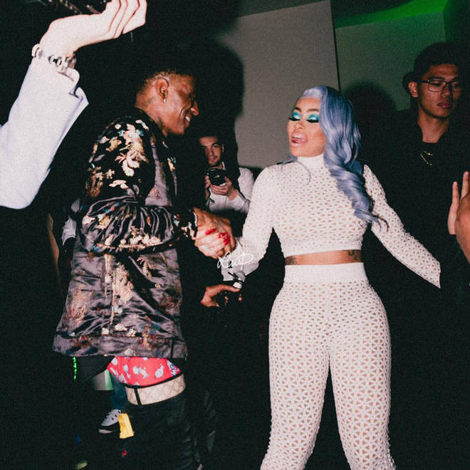Chyna and Souja Boy appeared to be enjoying their night.
