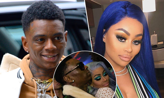 "Soulja Boy says he&squot;s ""in love"" with Blac Chyna."