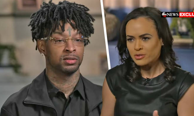 21 Savage gives first interview after being arrested by ICE