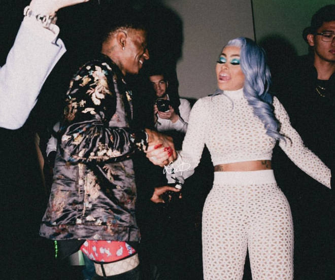 Soulja Boy and Blac Chyna spotted partying together looking in love