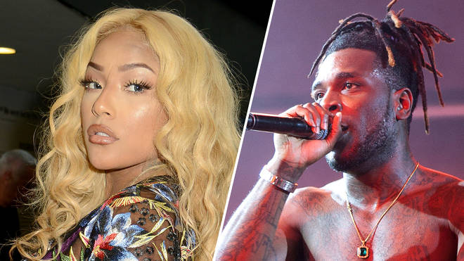Stefflon Don and Burna Boy are boo'd all the way up.