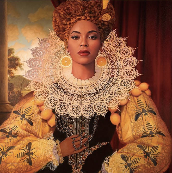 "In 2017, Tim O&squot;Brien uploaded a photo of an illustration he made of ""Queen Bey"" to Instagram"