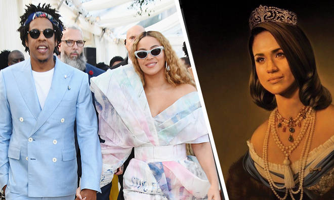 Beyoncé and Jay-z haven't paid for Tim O'Brien's painting of Meghan Markle