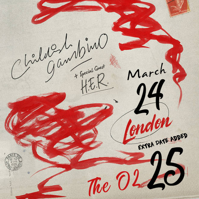 Childish Gambino has added an extra date to his London tour.