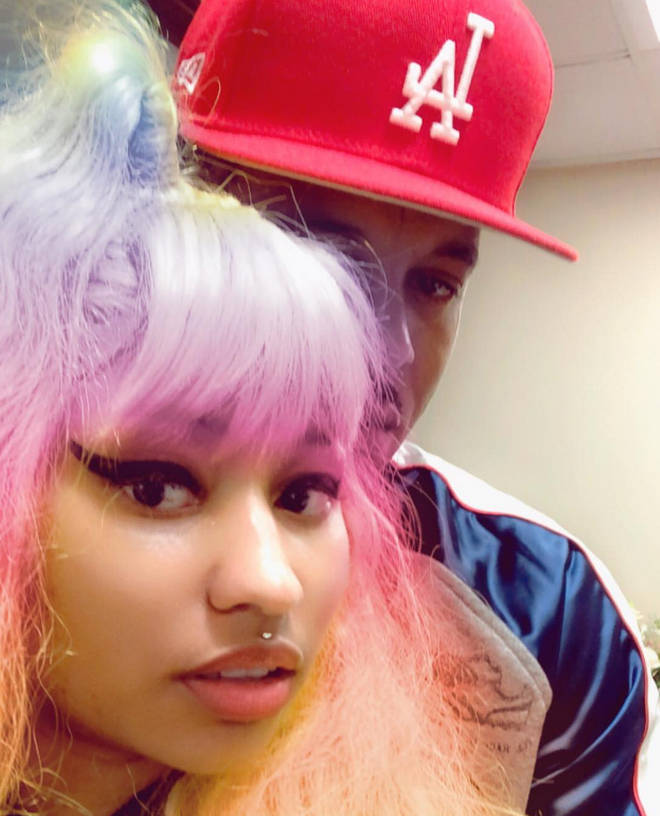 Nicki Minaj is currently dating boyfriend Kenneth Petty