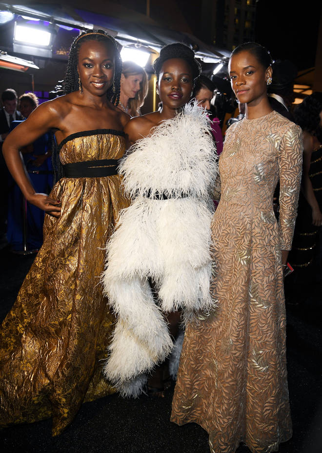 Black Girl Magic at The Oscars amongst Black Panther cast