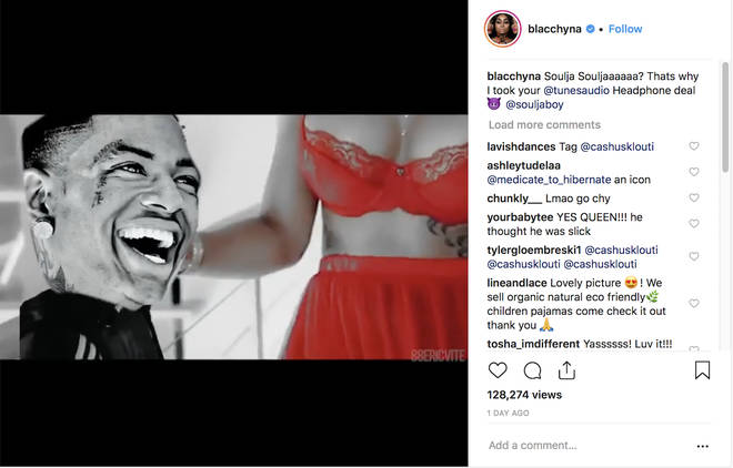 Black Chyna mocks Soulja Boy in an humiliating video on Instagram