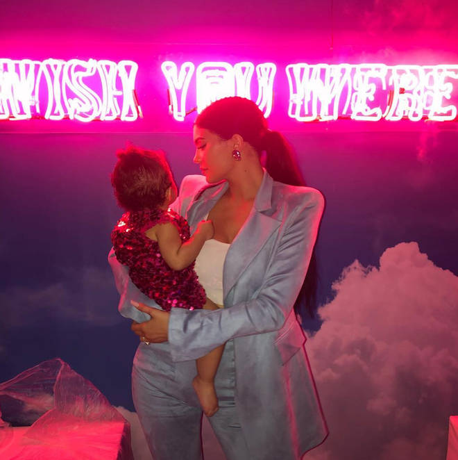Kylie Jenner and Travis Scott share daughter Stormi together