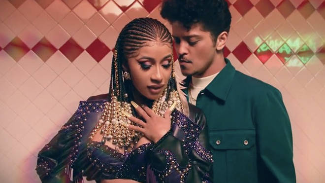 "Cardi B And Bruno Mars Get Acquainted In Racy Visuals For ""Please Me"""