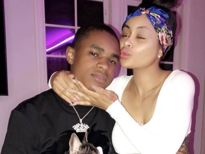 YBN Almighty Jay and Blac Chyna cuddled up when they were dating back in 2018