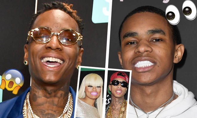 Soulja Boy & YBN Almighty Jay Team Up To Troll Blac Chyna & Tyga
