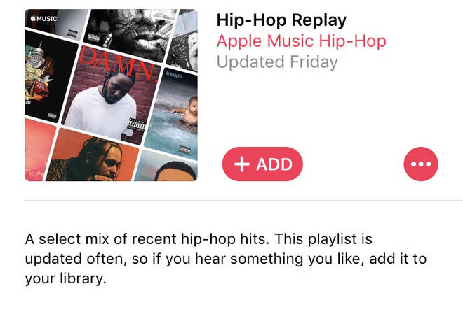 Hip-hop replay