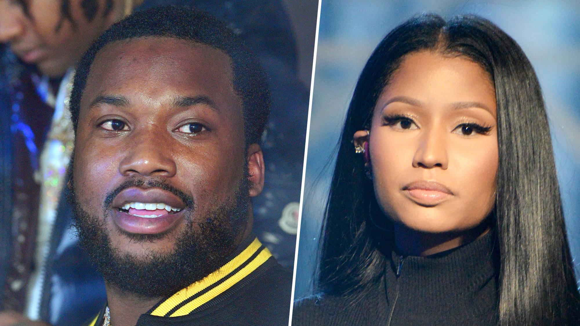 Meek Mill Responds After 'Dissing' Ex-Girlfriend Nicki Minaj