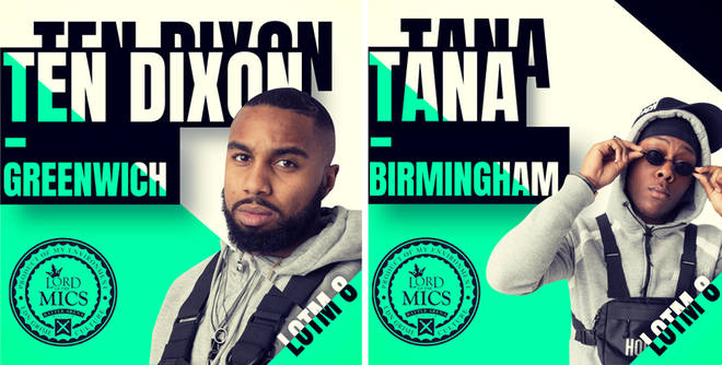Ten Dixon and Tana are on the LOTM 8 line up