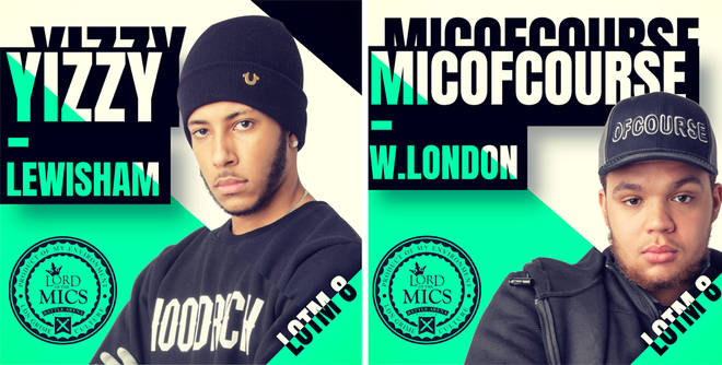 Yizzy and MicOfCourse are on the LOTM8 line up