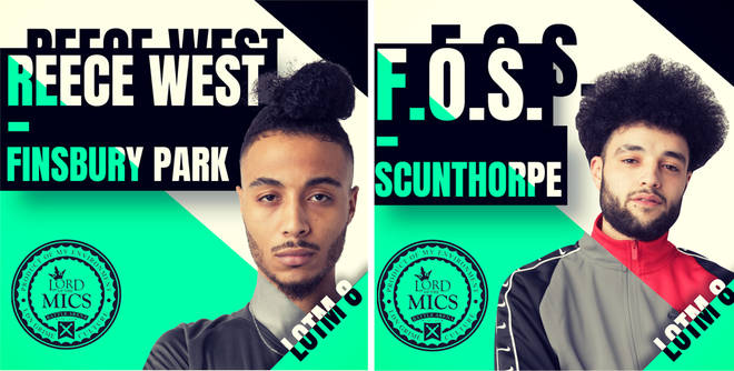 Reece West and F.O.S are on the LOTM line up