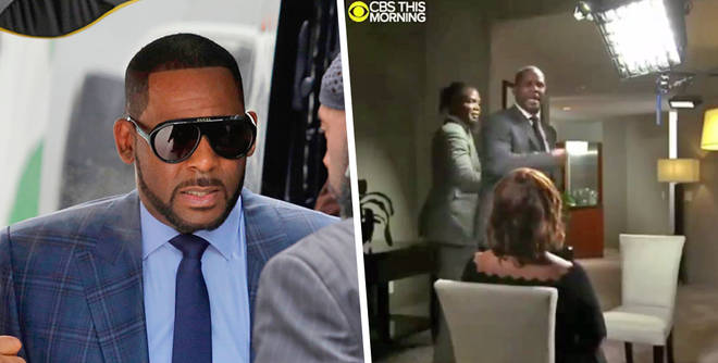 R Kelly lost control during an interview with Gayle King