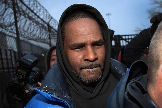 R. Kelly appears in court for aggravated sexual abuse charges.