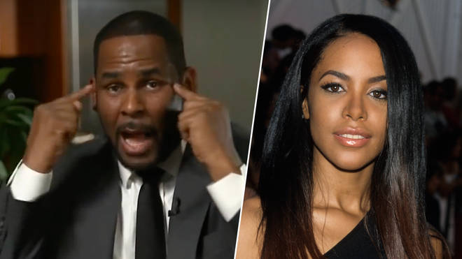 R. Kelly allegedly banned any questions concerning Aaliyah in his interview.