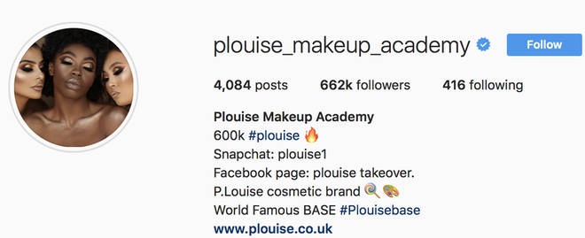 Paige Louise is the beauty brand owner for P.Louise cosmetics