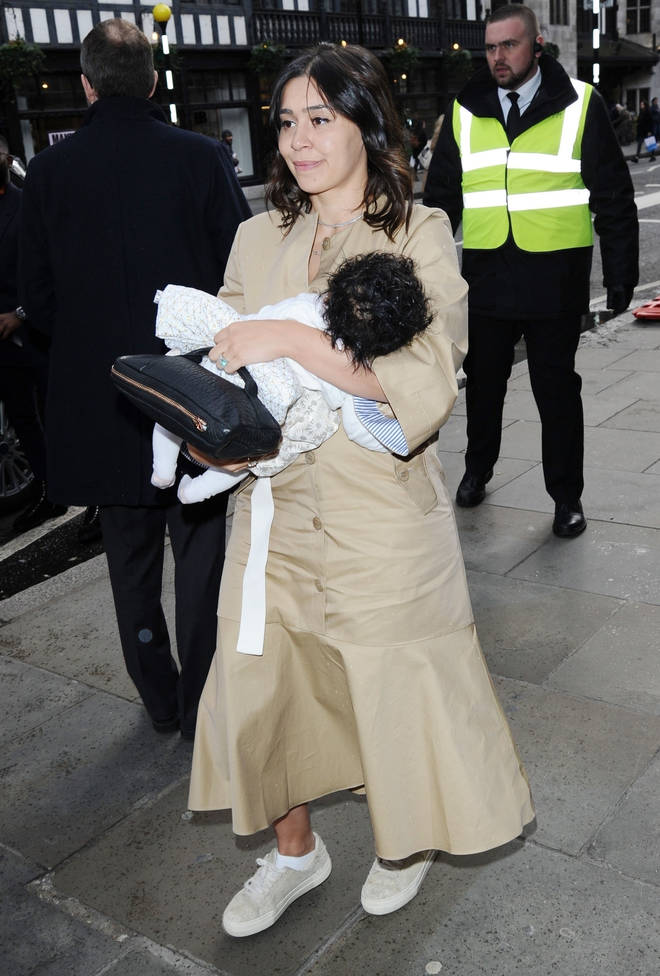 Tinie Tempah revealed his baby daughter in public for the first time